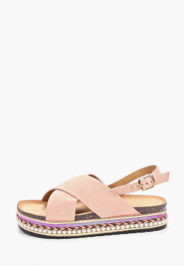женские сандалии damerose, розовые