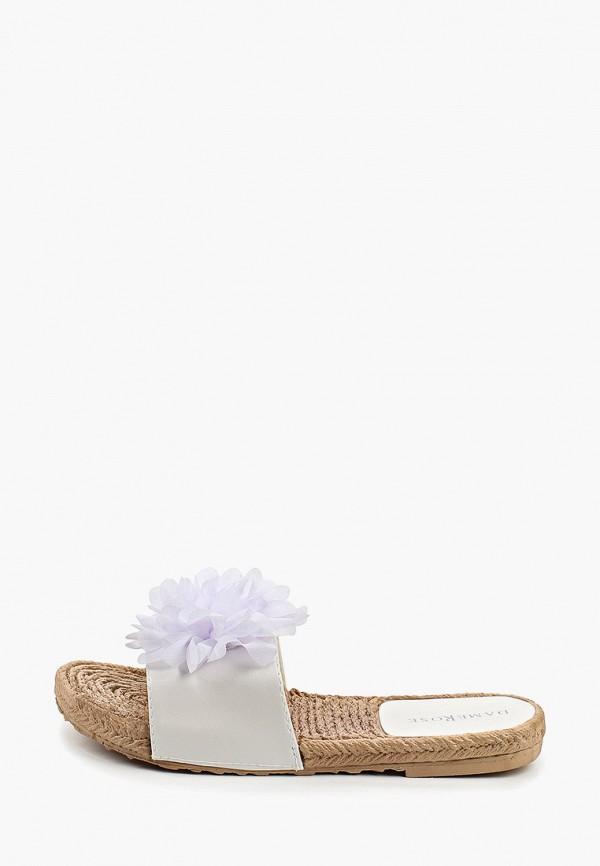 Фото - женские сабо Damerose белого цвета