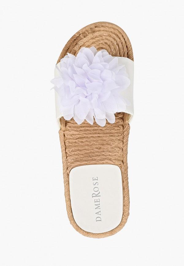 Фото 4 - женские сабо Damerose белого цвета