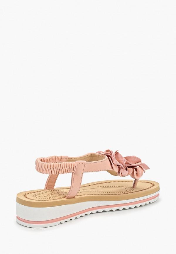 Фото 3 - женские сандали Damerose розового цвета
