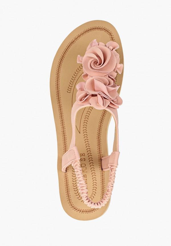 Фото 4 - женские сандали Damerose розового цвета