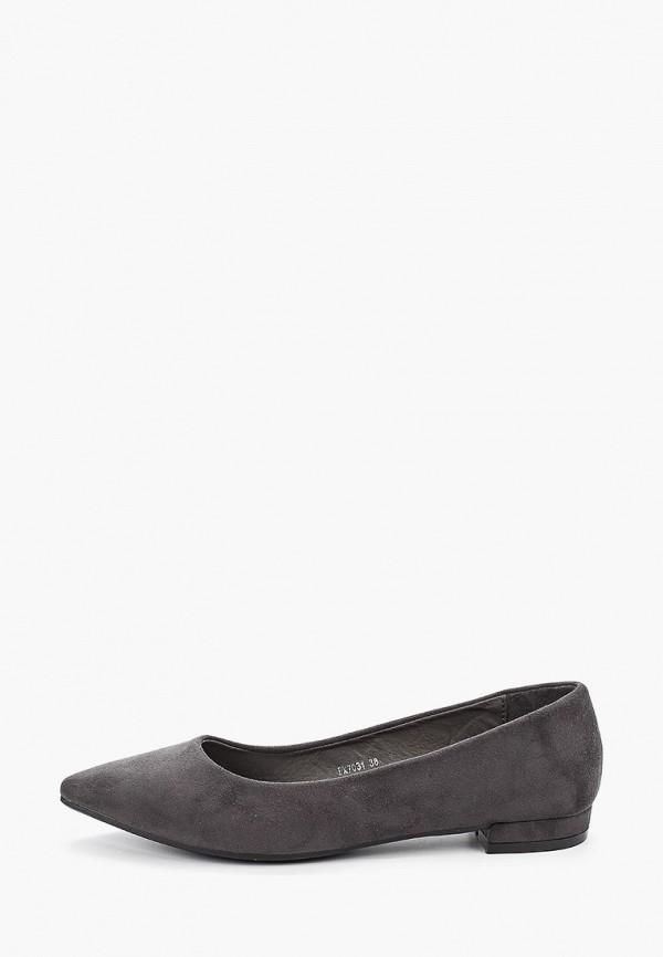 женские туфли damerose, серые
