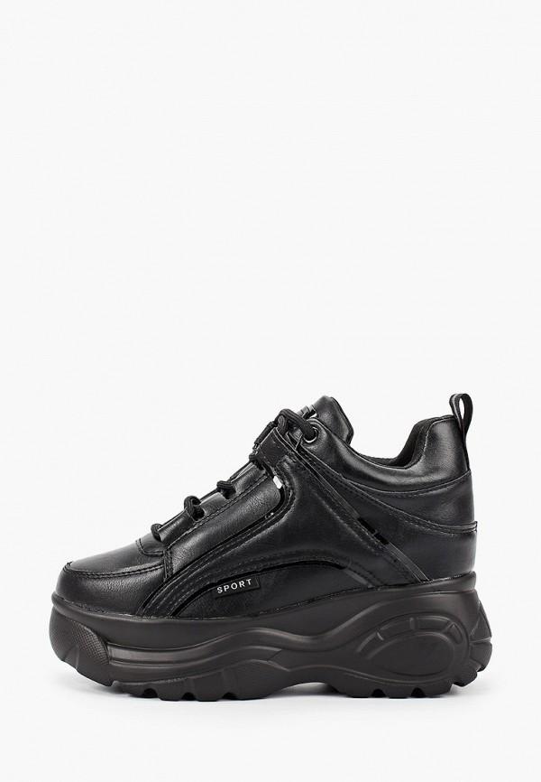 Фото - женские кроссовки Damerose черного цвета