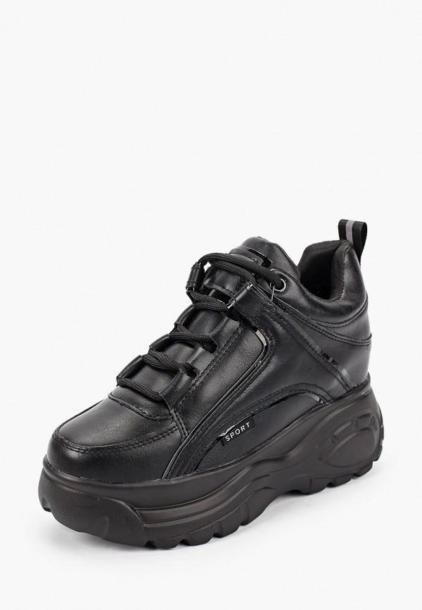 Фото 2 - женские кроссовки Damerose черного цвета
