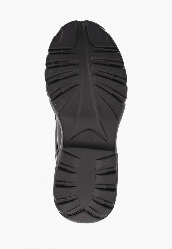Фото 5 - женские кроссовки Damerose черного цвета