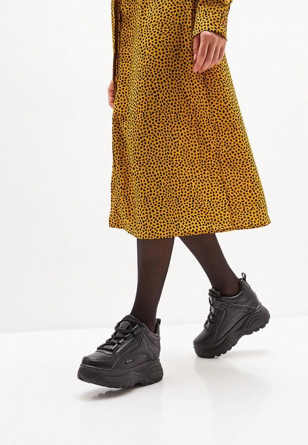 Фото 6 - женские кроссовки Damerose черного цвета