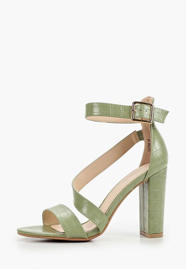 женские босоножки damerose, зеленые