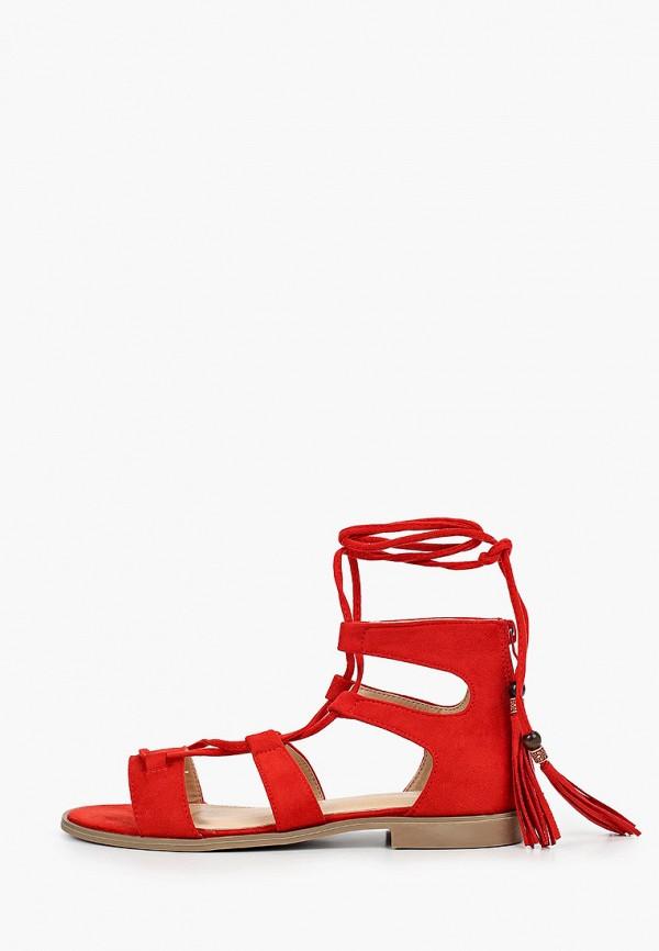 женские сандалии damerose, красные
