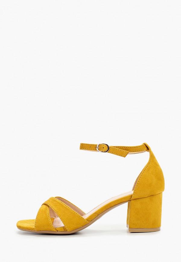женские босоножки damerose, желтые