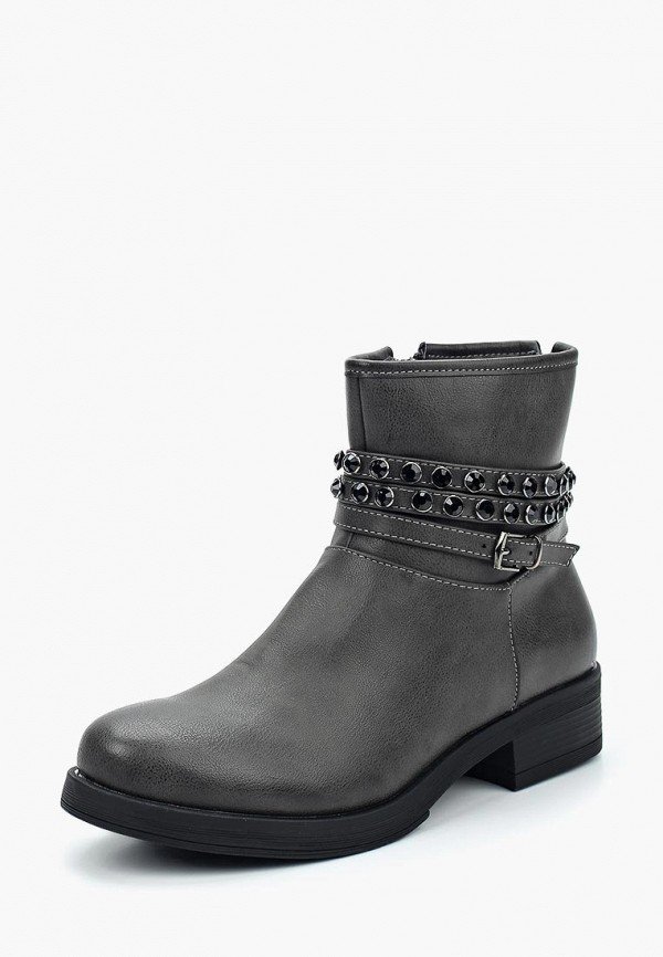 Купить Ботинки Damerose, da016awxjz41, серый, Осень-зима 2017/2018