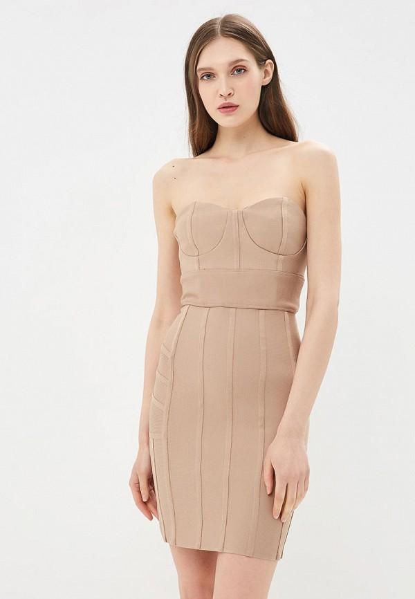 Купить Платье Danity, DA023EWBLTE7, бежевый, Весна-лето 2018