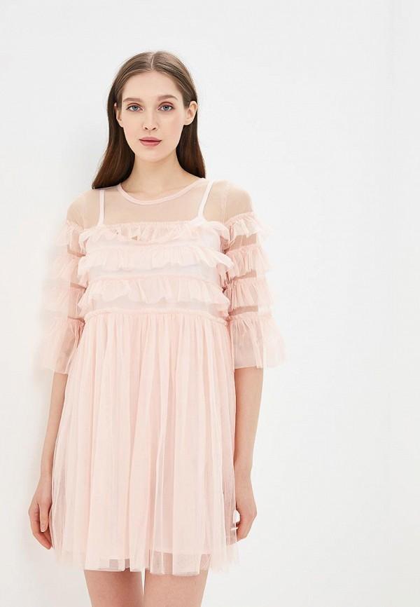 Купить Платье Danity, da023ewbltf2, розовый, Весна-лето 2018