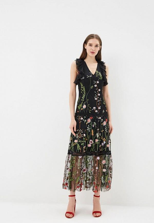 Платье Danity, DA023EWBLTG1, черный, Весна-лето 2018  - купить со скидкой