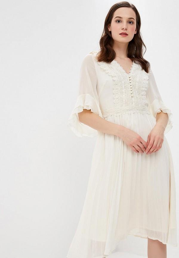 Купить Платье Danity, da023ewcfyr5, белый, Осень-зима 2018/2019