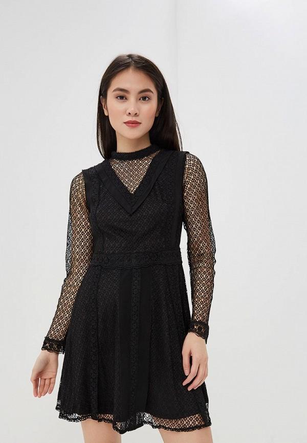 женское вечерние платье danity, черное