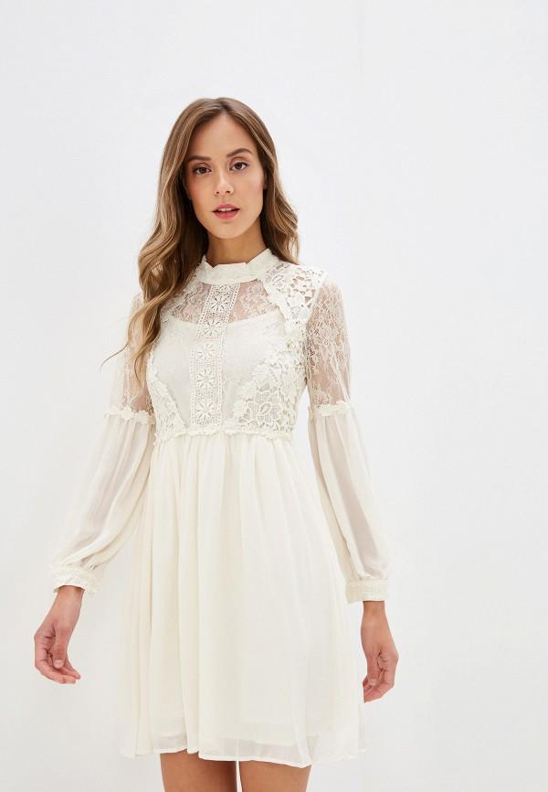 Купить Платье Danity бежевого цвета