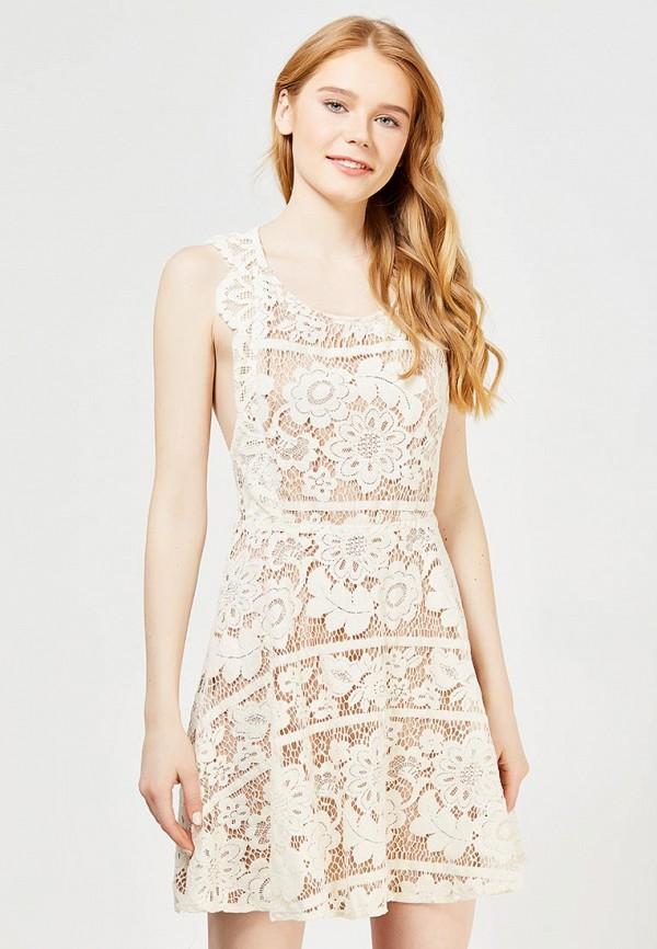Купить Платье Danity, da023ewqxz47, бежевый, Весна-лето 2017