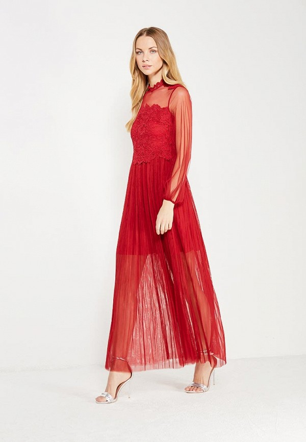 Купить Платье Danity, da023ewxti71, бордовый, Осень-зима 2017/2018
