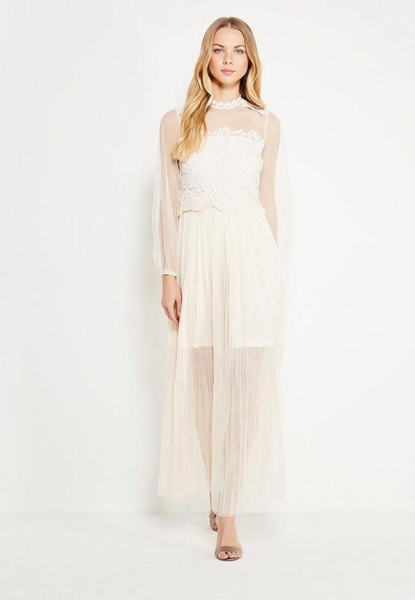 Купить Платье Danity, DA023EWXTI72, бежевый, Весна-лето 2018