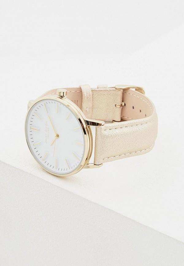 Фото 3 - Женские часы Daisy Dixon золотого цвета