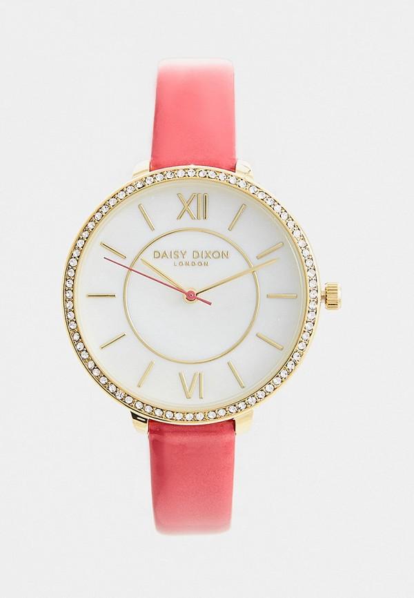 женские часы daisy dixon, розовые