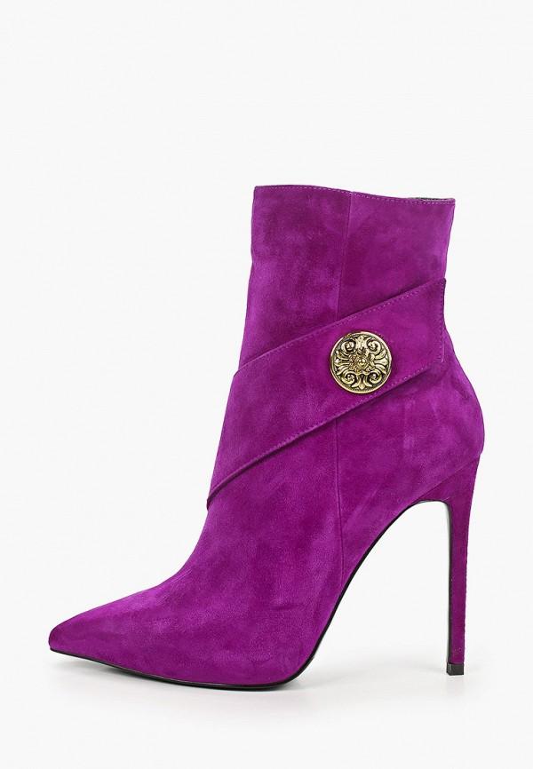 женские ботильоны dansanti, фиолетовые