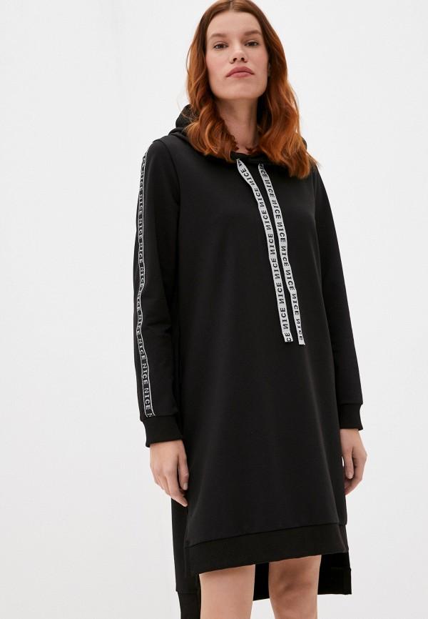 женское платье dansanti, черное