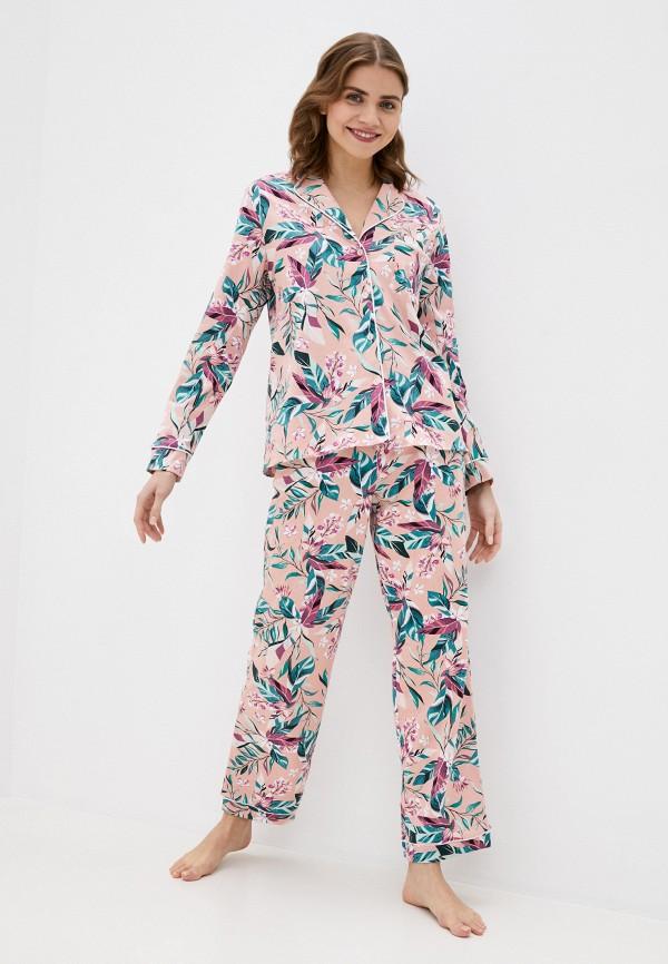 женская пижама dansanti, розовая