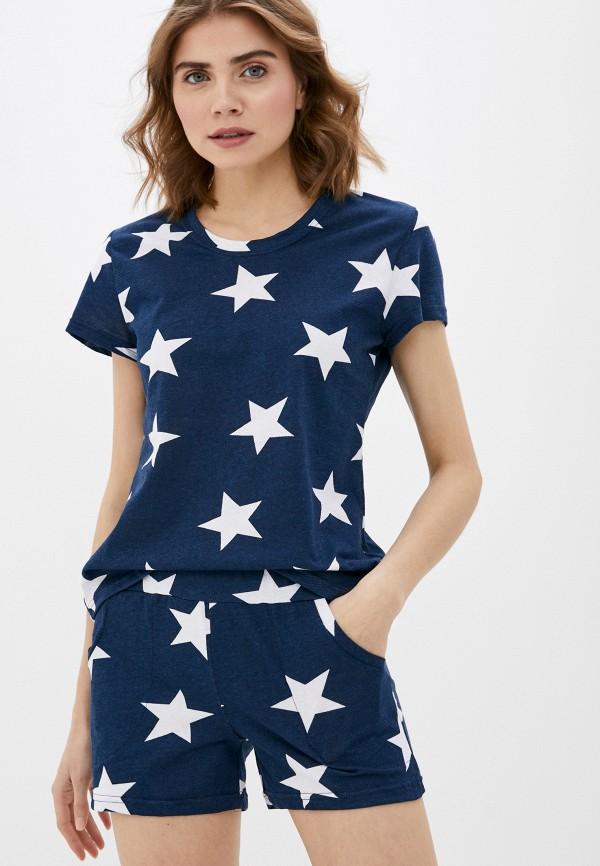 женская пижама dansanti, синяя