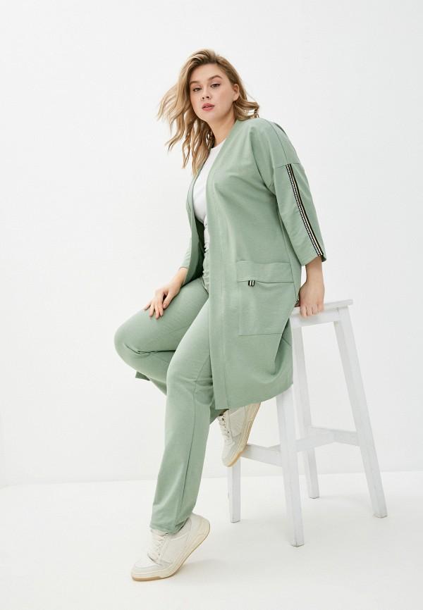 женский костюм dansanti, зеленый