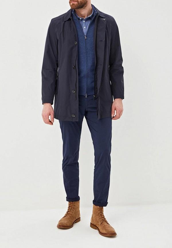 Фото 2 - мужское пальто или плащ Daniel Hechter синего цвета