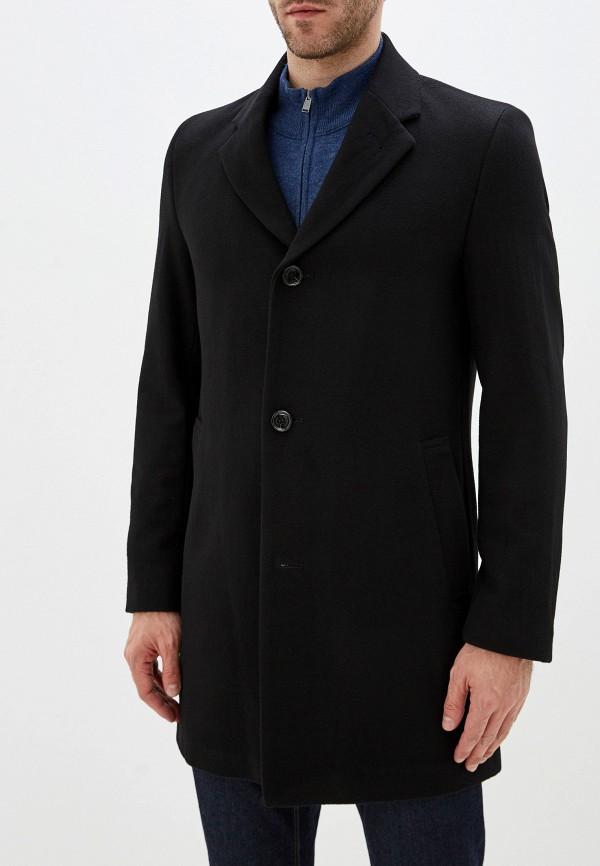 мужское пальто daniel hechter, черное
