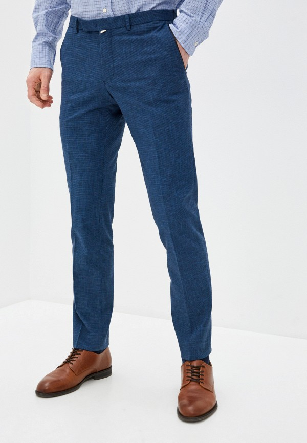 мужские зауженные брюки daniel hechter, синие
