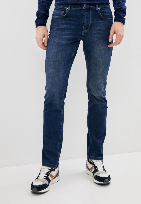 мужские зауженные джинсы daniel hechter, синие