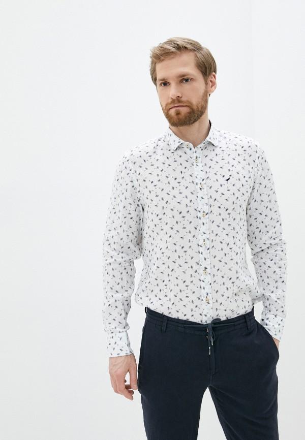 мужская рубашка с длинным рукавом daniel hechter, белая