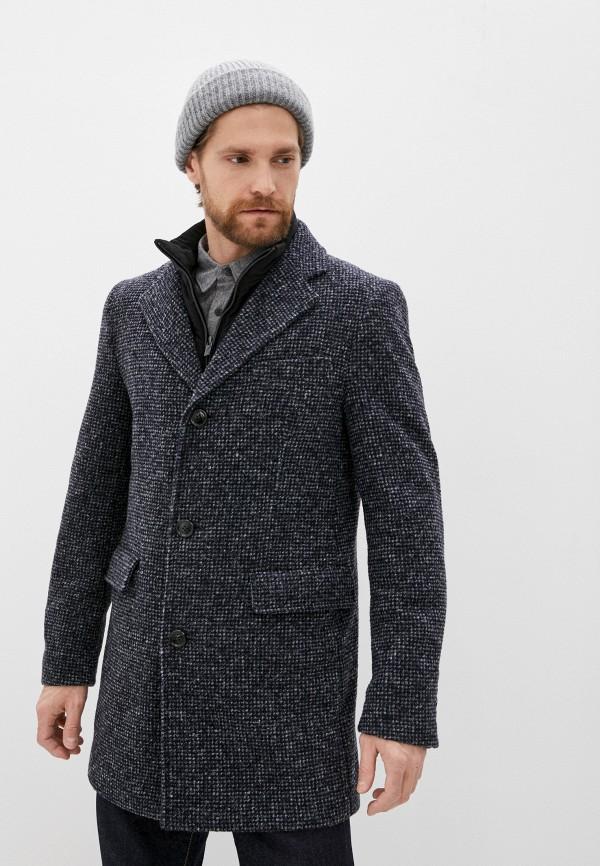 мужское пальто daniel hechter, серое
