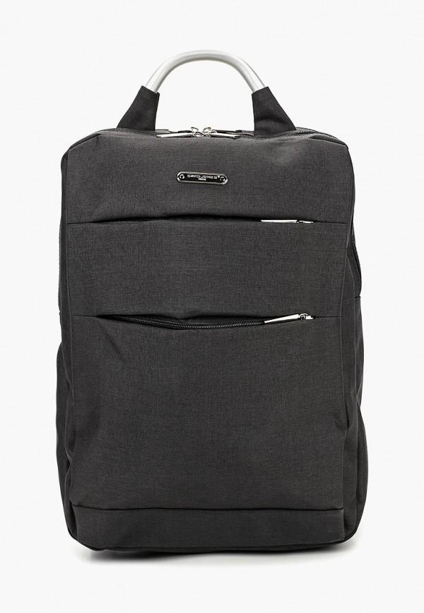мужской рюкзак david jones, черный