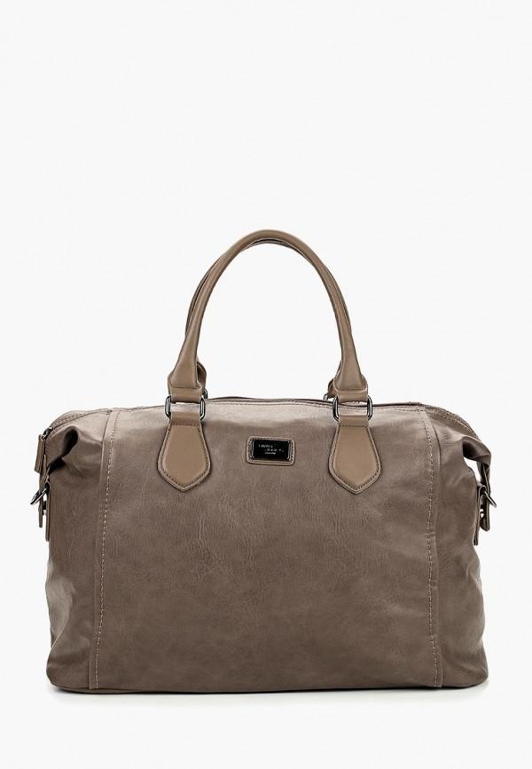 Дорожная сумка  - коричневый цвет
