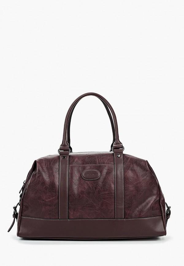 Дорожная сумка  - бордовый цвет