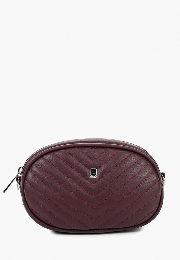 Поясная сумка  бордовый цвета