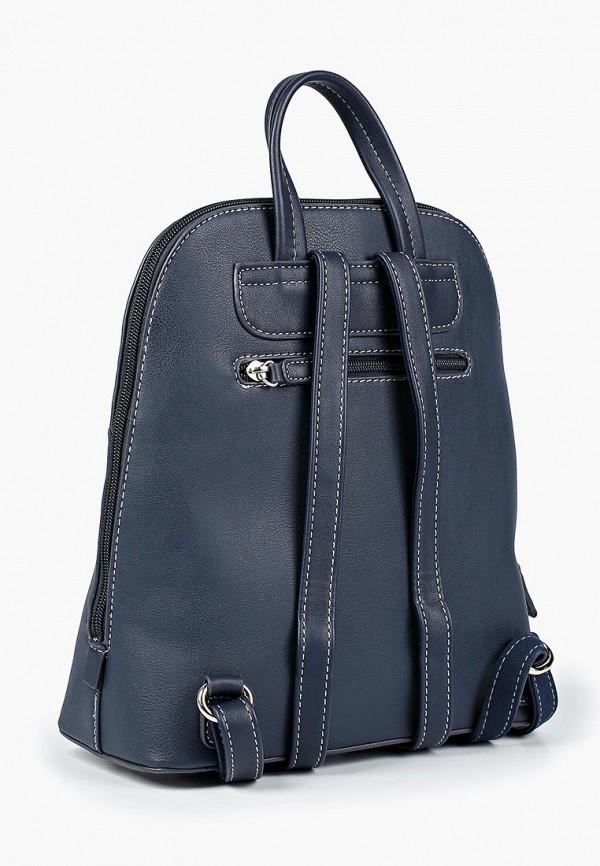 Фото 2 - женский рюкзак David Jones синего цвета