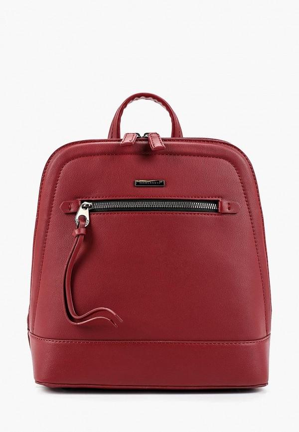 Фото - женский рюкзак David Jones бордового цвета