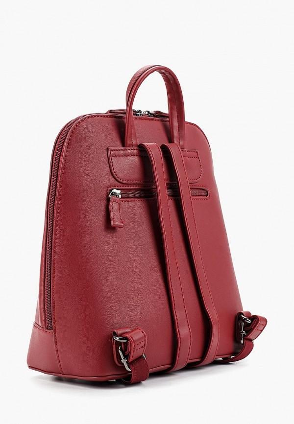Фото 2 - женский рюкзак David Jones бордового цвета