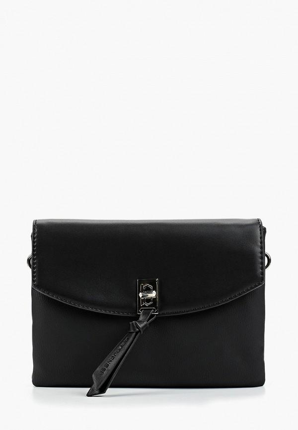 Фото - женскую сумку David Jones черного цвета