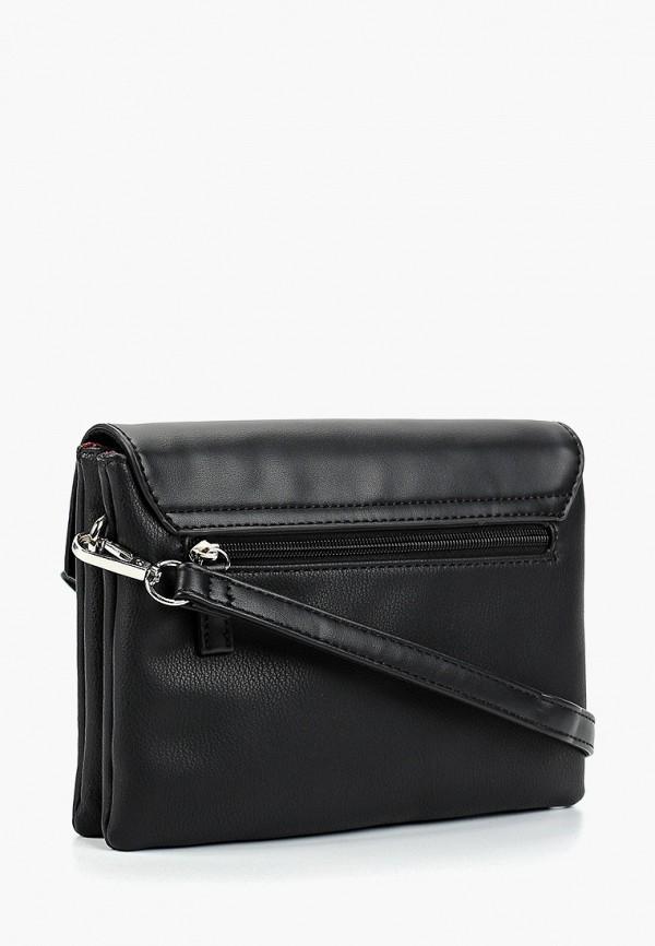 Фото 2 - женскую сумку David Jones черного цвета
