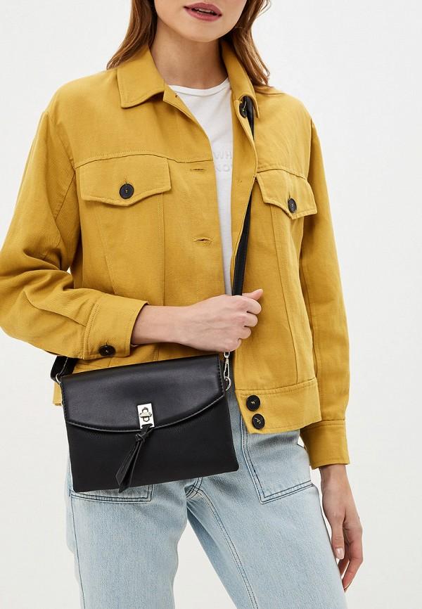 Фото 4 - женскую сумку David Jones черного цвета