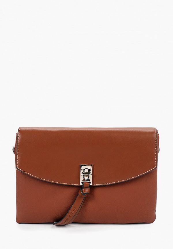 Фото - женскую сумку David Jones коричневого цвета