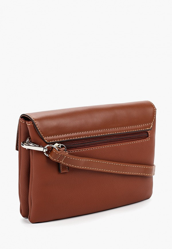 Фото 2 - женскую сумку David Jones коричневого цвета