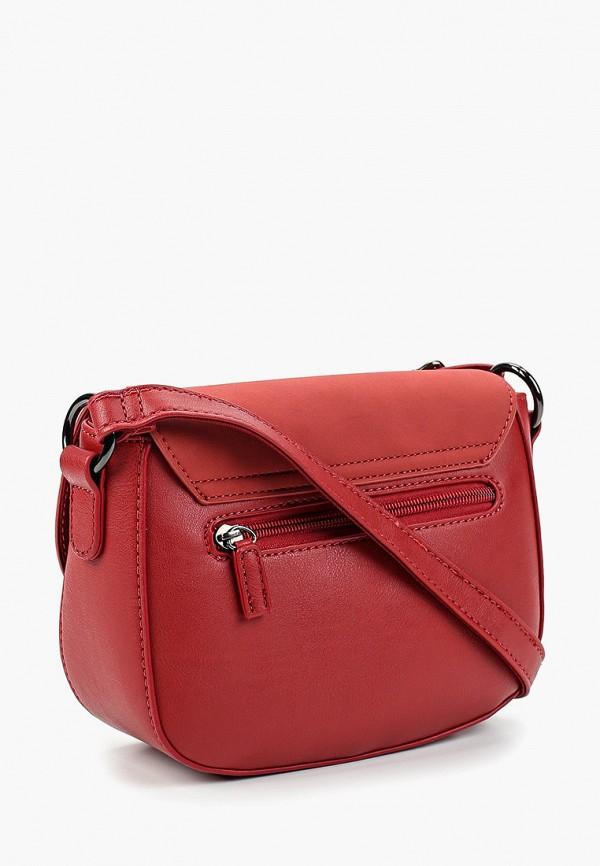 Фото 2 - женскую сумку David Jones красного цвета