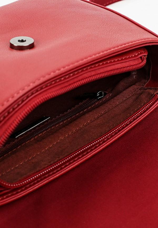 Фото 3 - женскую сумку David Jones красного цвета